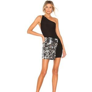 NWT H:ours Elenor Sequin Wrap Skirt Small/2-4
